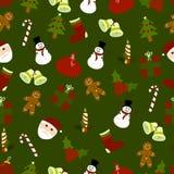 Teste padrão do Natal Imagem de Stock