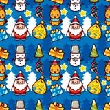 Teste padrão do Natal ilustração stock