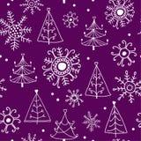 Teste padrão do Natal. Imagens de Stock