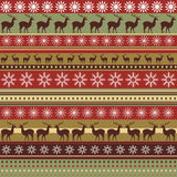 Teste padrão do Natal Fotografia de Stock