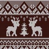 Teste padrão do Natal Foto de Stock Royalty Free