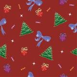 Teste padrão do Natal Foto de Stock