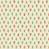 Teste padrão do Natal do vetor. Textura dos seamles do xmas de Colorfuly. Fotografia de Stock