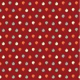 Teste padrão do Natal do vetor. Textura dos seamles do xmas de Colorfuly. Imagens de Stock Royalty Free