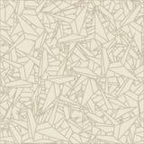 Teste padrão do origami dos esquemas ilustração royalty free