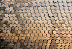 Teste padrão do ornamental do metal foto de stock