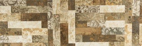 Teste padrão do ornamental do projeto do ornamento Imagem de Stock Royalty Free