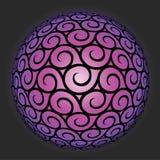 Teste padrão do ornamental do vetor Imagens de Stock Royalty Free