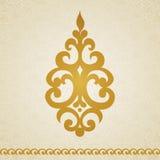 Teste padrão do ornamento no estilo vitoriano Imagens de Stock
