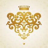 Teste padrão do ornamento no estilo vitoriano Fotos de Stock Royalty Free