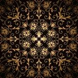 Teste padrão do ouro Fotografia de Stock Royalty Free