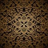 Teste padrão do ouro Imagens de Stock Royalty Free