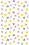 Teste padrão do ovo Fotos de Stock