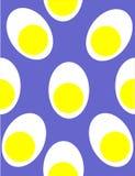 Teste padrão do ovo de Eggszactly Fotografia de Stock Royalty Free