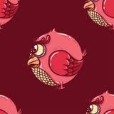 Teste padrão do pássaro Imagem de Stock Royalty Free