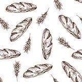 Teste padrão do pão Imagens de Stock