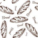 Teste padrão do pão Fotos de Stock Royalty Free