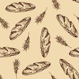 Teste padrão do pão Imagens de Stock Royalty Free
