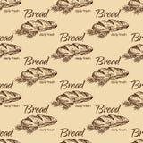Teste padrão do pão Fotografia de Stock Royalty Free