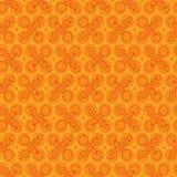 Teste padrão do pêssego e do algodão Imagens de Stock Royalty Free