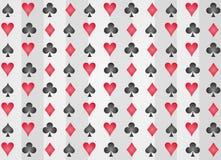 Teste padrão do póquer. Foto de Stock