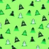 Teste padrão do papel de envolvimento do Natal Fotografia de Stock
