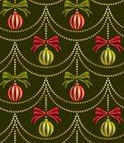 Teste padrão do papel de parede do Natal Imagens de Stock Royalty Free