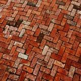 Teste padrão do paver do tijolo Imagens de Stock