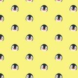 Teste padrão do pinguim Fotografia de Stock