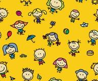 Teste padrão do presente das crianças Fotos de Stock Royalty Free