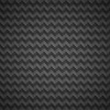 Teste padrão do preto escuro de Chevron Foto de Stock Royalty Free