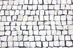 Teste padrão do quadrado branco Imagens de Stock Royalty Free