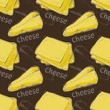 Teste padrão do queijo Fotos de Stock Royalty Free
