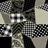 Teste padrão do Quilt Fotografia de Stock