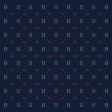 Teste padrão do quimono de Kasuri do estilo japonês Fotos de Stock