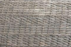 Teste padrão do Rattan feito a mão do vime da cestaria da natureza imagem de stock royalty free