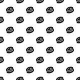 Teste padrão do redemoinho dos doces sem emenda ilustração royalty free
