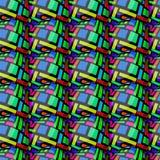Teste padrão do retângulo do ovo Imagem de Stock