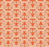 Teste padrão do Romanesque Imagem de Stock