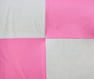 Teste padrão do rosa e do branco Fotografia de Stock Royalty Free