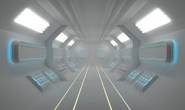 Teste padrão do Scifi, fundo do scifi, rendição do contexto 3D do scifi Fotografia de Stock Royalty Free