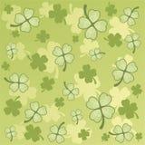 Teste padrão do St. Patrick simples ilustração royalty free