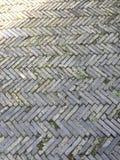 Teste padrão do sumário do paver do jardim Imagem de Stock