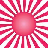 Teste padrão do Sunburst Fotografia de Stock
