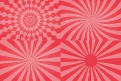 Teste padrão do Sunburst de Sun Foto de Stock Royalty Free