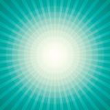 Teste padrão do Sunburst de Sun do vetor Imagens de Stock