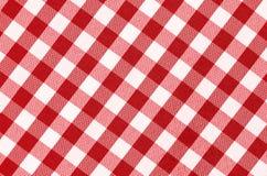 Teste padrão do Tablecloth imagem de stock