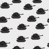 Teste padrão do tanque Fotografia de Stock