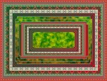 Teste padrão do tapete. ilustração royalty free