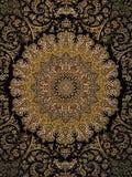 Teste padrão do tapete persa de Royal Palace fotos de stock royalty free